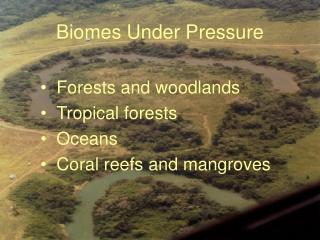 Biomes Under Pressure