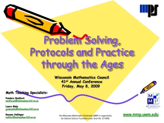 Problem Solving, Protocols and Practice through the Ages