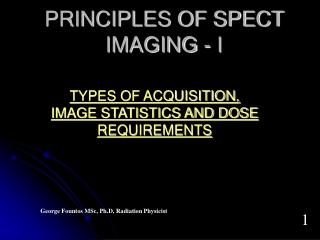 PRINCIPLES OF SPECT IMAGING  - Ι