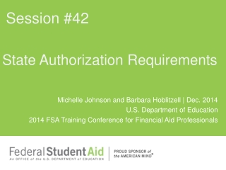 State Authorization Requirements