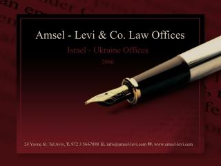 Israel - Ukraine Offices 2006