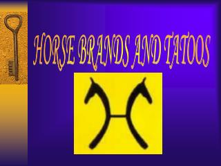 HORSE BRANDS AND TATOOS