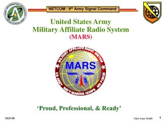 NETCOM / 9 th Army Signal Command