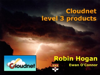 Cloudnet level 3 products