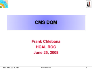 CMS DQM