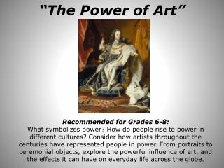 """The Power of Art"""