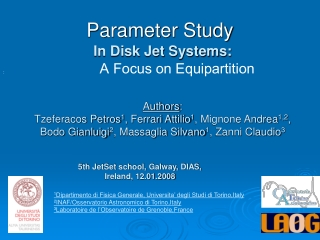 Parameter Study