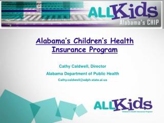 Alabama's Children's Health Insurance Program
