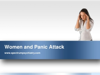 Women and Panic Attack