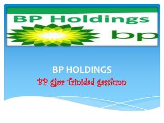 BP gjør Trinidad gassfunn