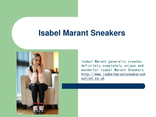 Isabel Marant Sneakers Outlet UK
