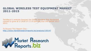 Wireless Test Equipment Market- Global Industry Size,Trends,
