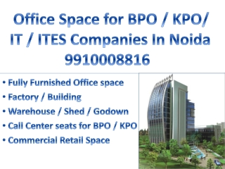 Furnished Office space 1000 sq ft in sector 3 Noida