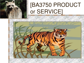 [BA3750 PRODUCT or SERVICE]