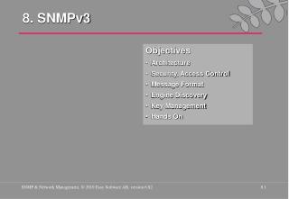 8. SNMPv3