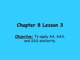 Chapter 8 Lesson 3