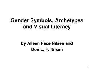 Gender Symbols, Archetypes and Visual Literacy