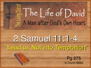 2 Samuel 11:1-4