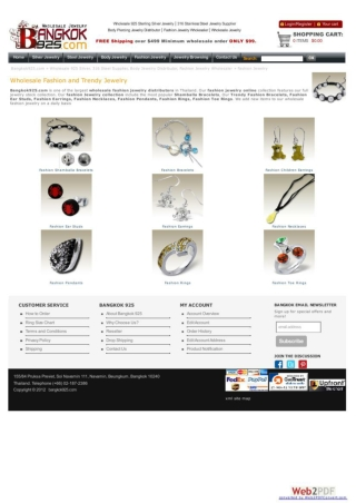 wholesale fashion jewelry