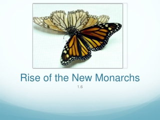 Rise of the New Monarchs