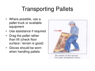 Transporting Pallets
