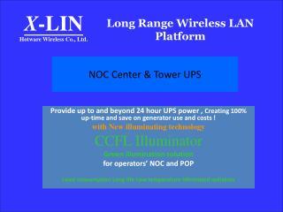 Long Range Wireless LAN Platform
