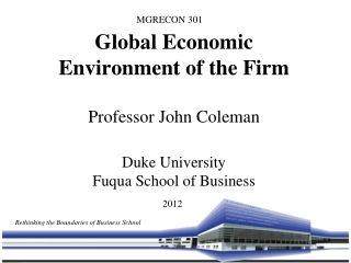 Rethinking the Boundaries of Business School