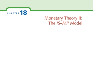 IS–MP model  consists of