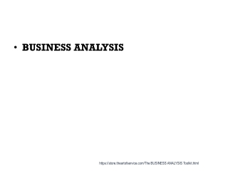 International Institute of Business Analysis