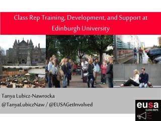 Class Rep Training, Development, and Support at Edinburgh University