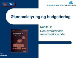 konomistyring og budgettering