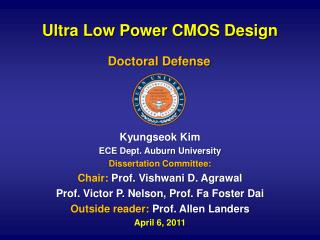 Ultra Low Power CMOS Design