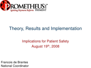 Theory, Results and Implementation
