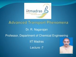 Advanced Transport Phenomena