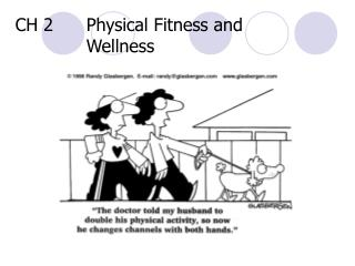 CH 2	Physical Fitness and 				Wellness