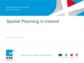 Spatial Planning in Ireland