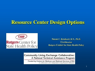 Resource Center Design Options