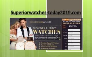 Superior Watches Address PO Box 40189 Houston Texas 77240