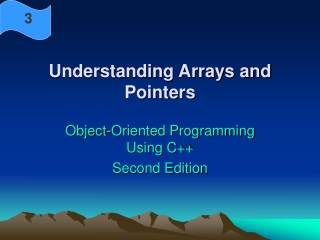 Understanding Arrays and Pointers