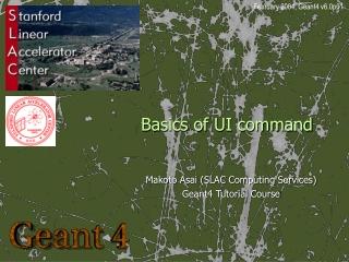 Basics of UI command