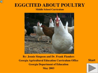 EGGCITED ABOUT POULTRY Middle School Curriculum