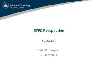 STFC Perspective