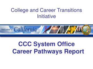 College and Career Transitions Initiative