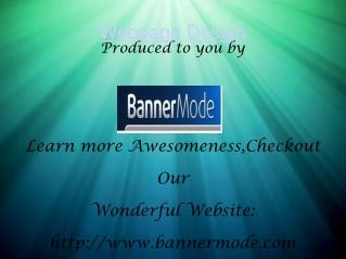 webpage Banner Design