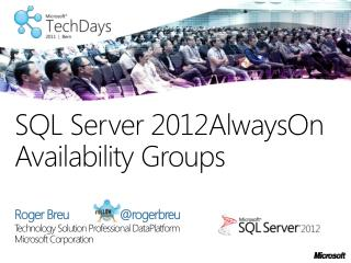SQL Server 2012AlwaysOn  Availability Groups