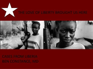 THE LOVE OF LIBERTY BROUGHT US HERE