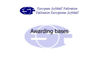 Awarding bases