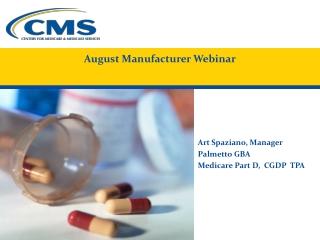 August Manufacturer Webinar