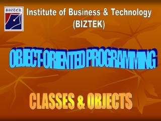 Institute of Business & Technology (BIZTEK)