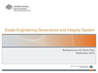 Estate Engineering Governance and Integrity System
